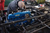 Refitting the rebuilt engine September 2011